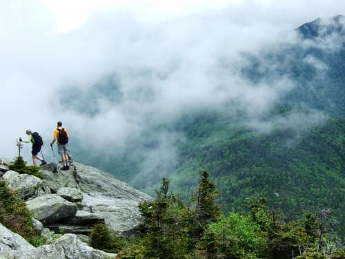 Clouds on Camel's Hump
