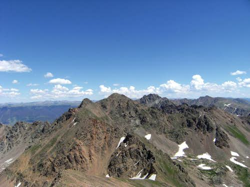 View from Grand Traverse Peak