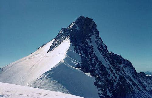 The Nadelhorn viewed from the...