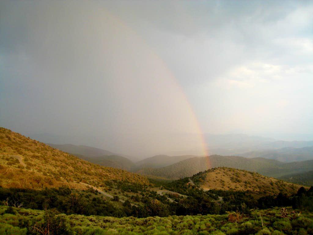 Rainbow near Grandview
