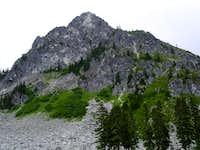 Lichtenberg Mountain, west face