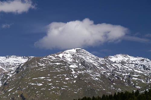 Punta de Loma Pedada (3185m), Puntal de la Caldera (3219m)