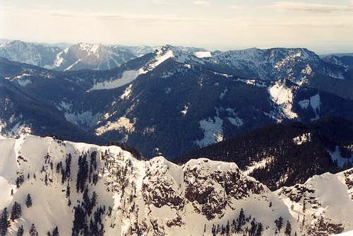 Mt. Defiance (5,584 ft) as...