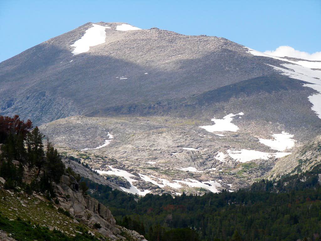South side of Wind River Peak