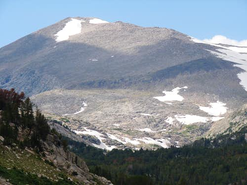 South side of Wind River Peak