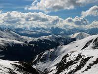 Vestal and Wham ridge taken...