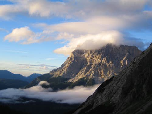 Morning impression of Zugspitze