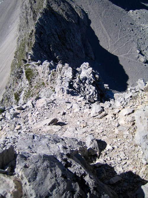 Ridge of Vorderer Drachenkopf