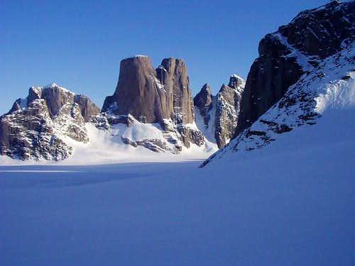 Mt. Asgard in all its glory....