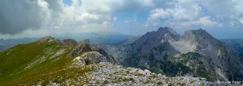Summit view from Kom Vasojevićki