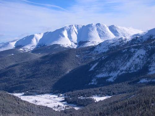 Bald Mountain from Quandary...