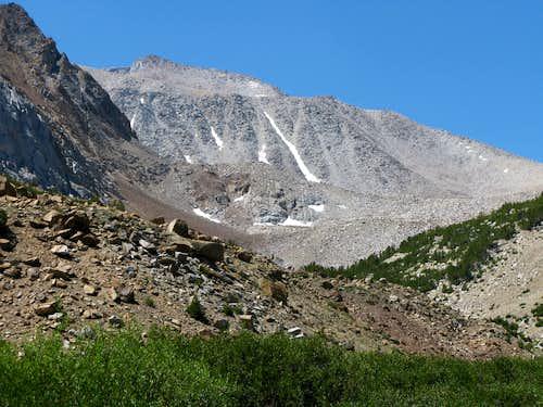 Mt Morgan from Francis Lake