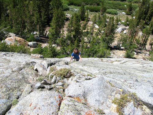 Easy Bouldering on South Side of Francis Lake