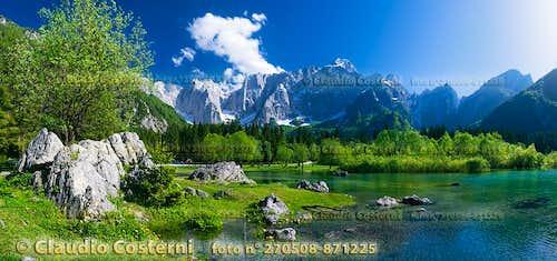 Fusine - secondo lago