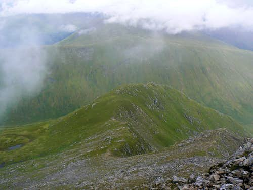 The ridge of Stob Garbh