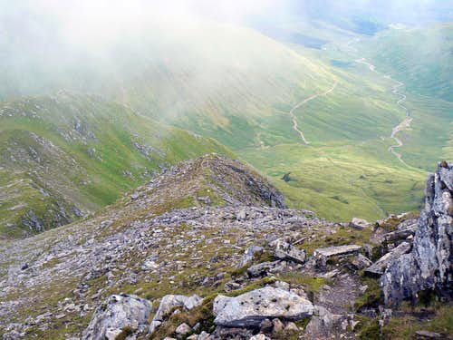 Stob Garbh ridge and the Cononish Glen