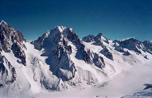 Aiguille d'Argentière viewed...
