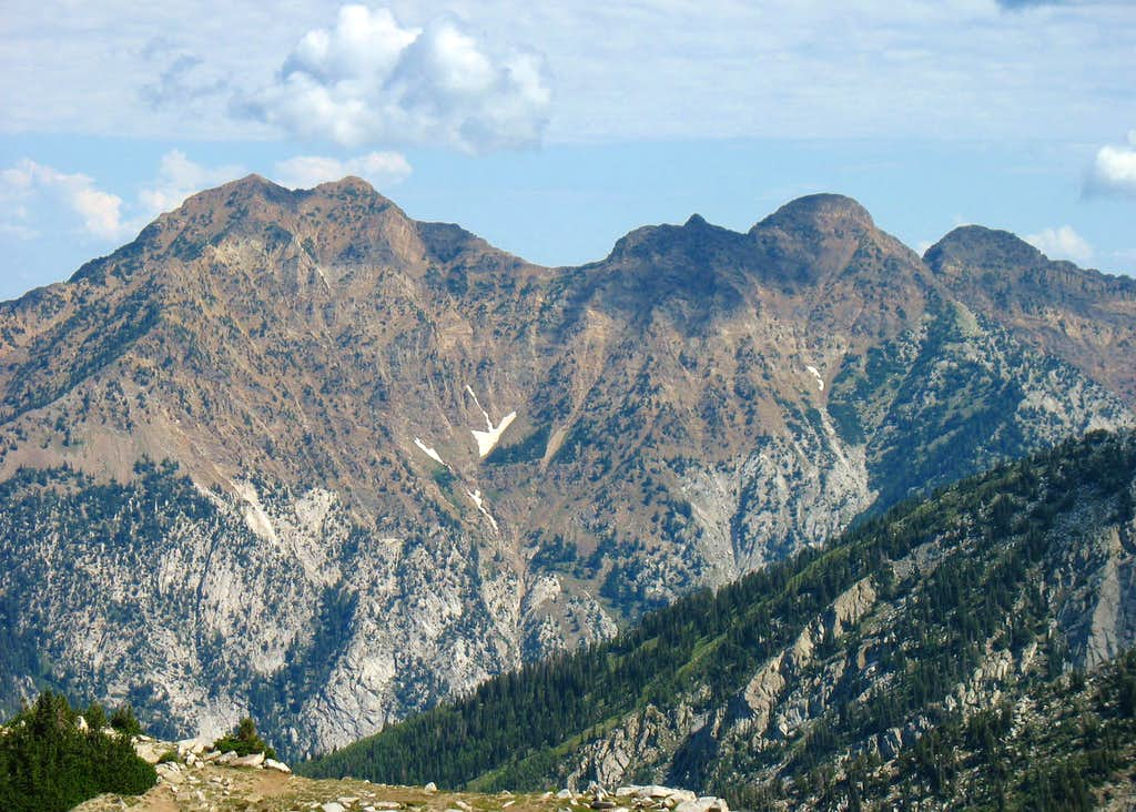 Triple Traverse Peaks from Lone Peak