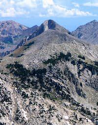 Pfeifferhorn from Lone Peak