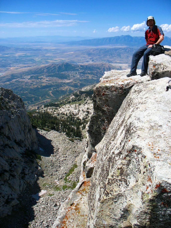 Kendrick at Lone Peak summit