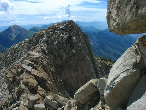Lone Peak south summit