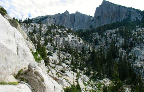 Lone Peak cirque drainage