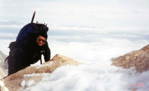 Myself on the summit of Thor...