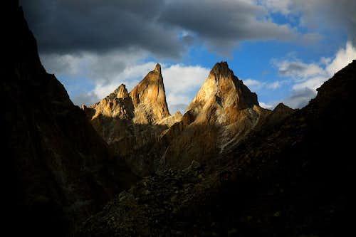 Baltoro Rock Towers