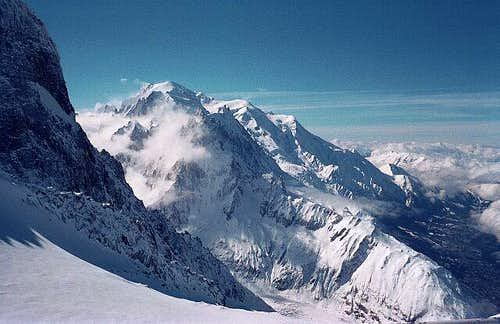 The Mont Blanc, viewed from...
