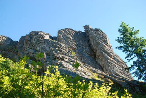 Sleeping Beauty crags I