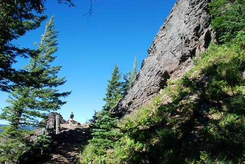 Sleeping Beauty crags III