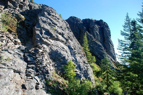Sleeping Beauty crags IV