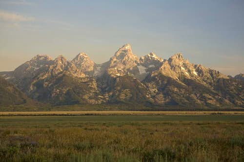 Dawn on the Teton Range
