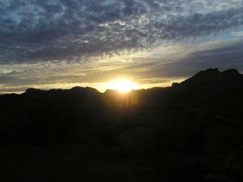 21 Feb 2004 - Sunrise over...