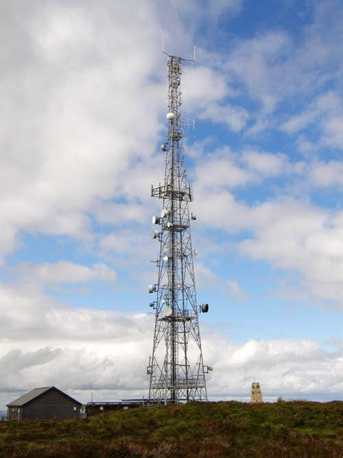 The Black Mixen Radio Tower