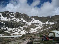 seven sisters lake campsite