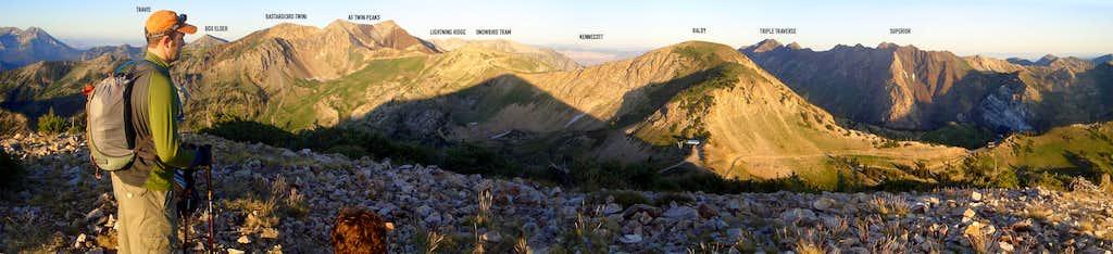 panorama from sugarloaf