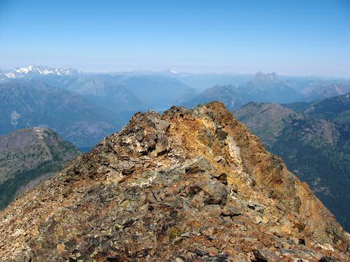 The attractive route of the North Ridge