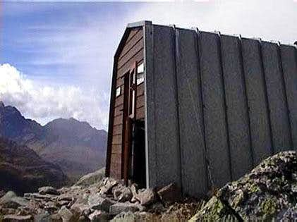 The Gianni Comino hut
