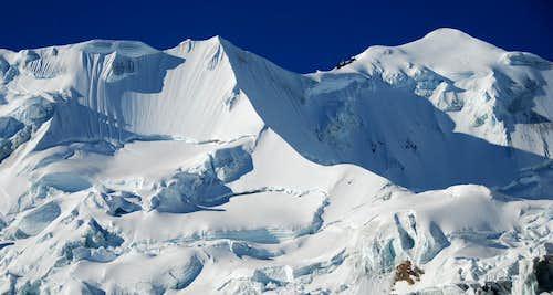 Illimani Pico Norte & Pico Central