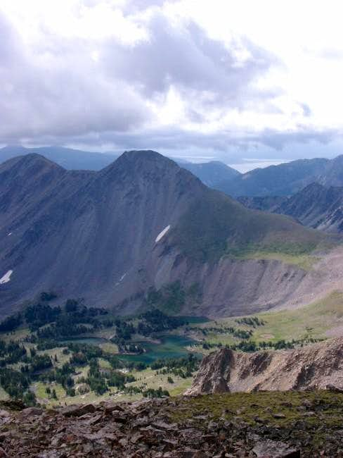 A view from the summit down...