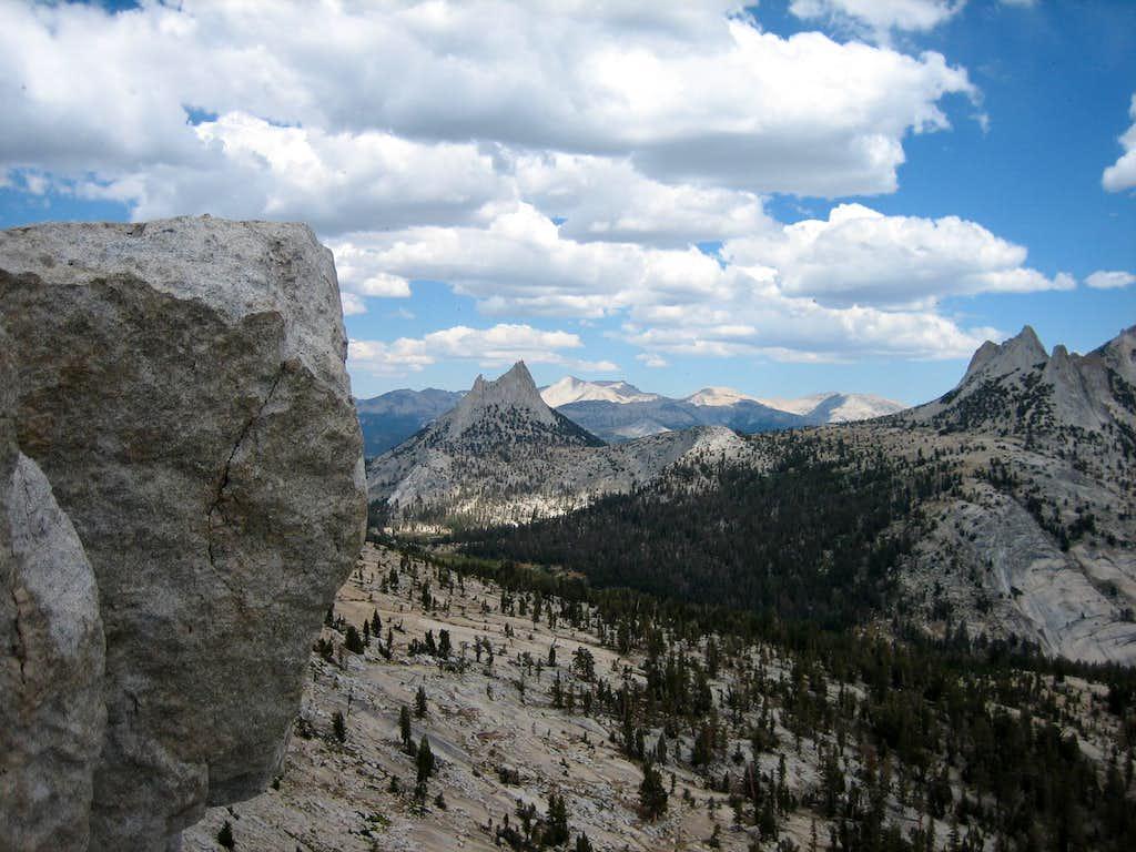 Cathedral Peak near summit