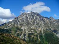 Mt. Stuart from Longs Pass