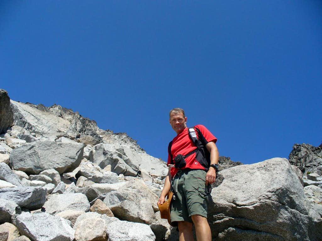 Bouldering or climb