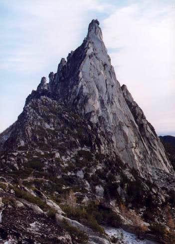 Facing Prusik's West Ridge...