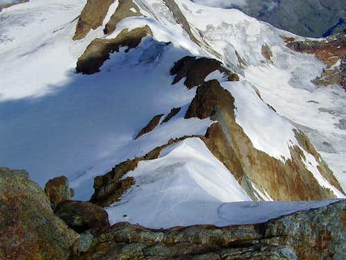 San Matteo final ridge