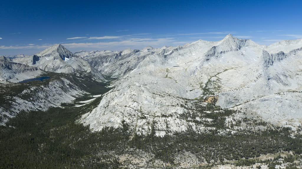 Arrow Peak and Mt. Ruskin