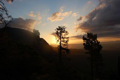 Sun Rising over Zion