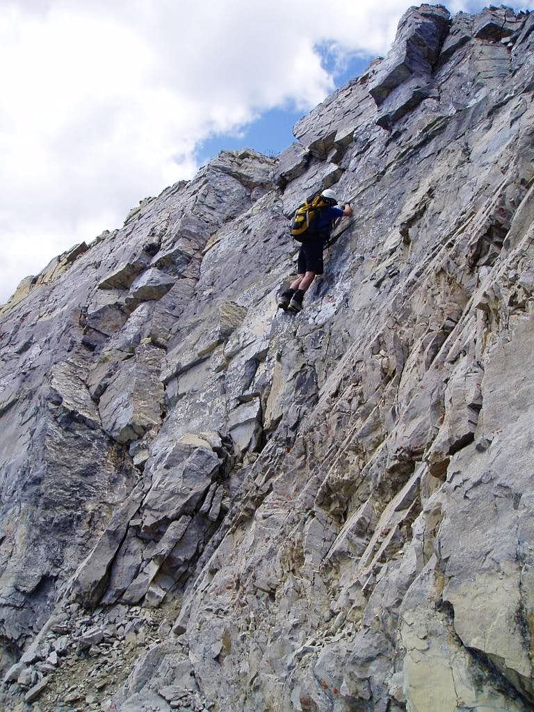 North West Ridge on Fisher Peak, Kananaskis 5.3