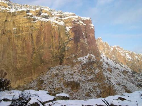 Smith:  Red Wall and Red Ryder Buttress